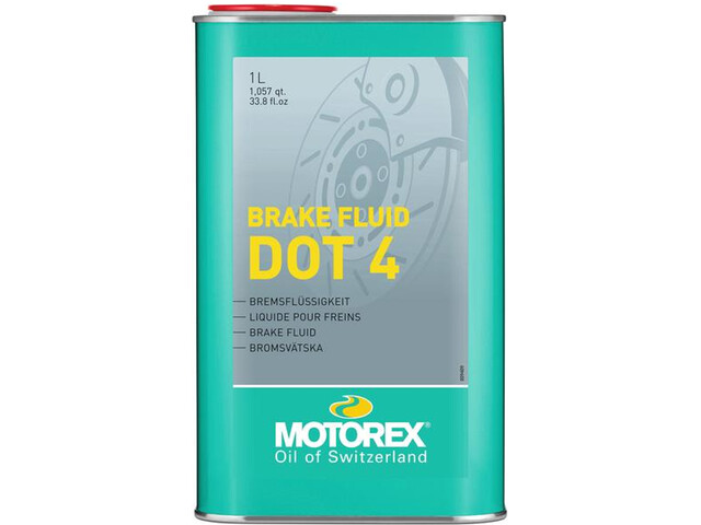 Motorex DOT 4 Brake Fluid 1000ml
